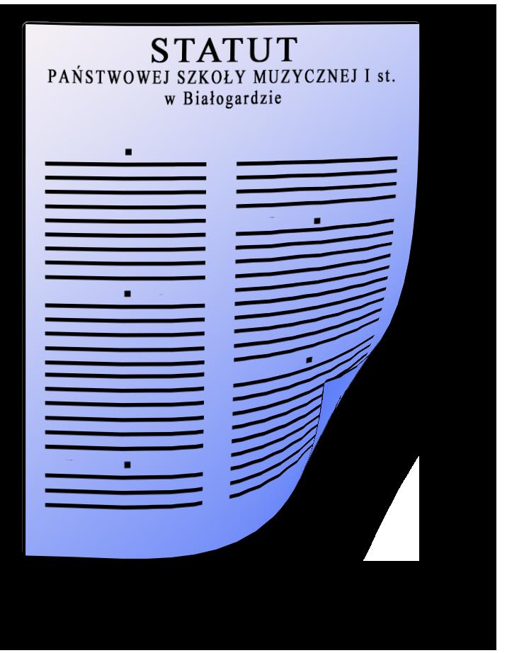 Ikona statutu szkolnego