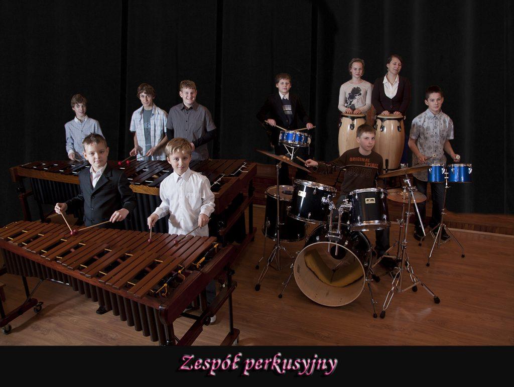 zespół perkusyjny zdjęcie