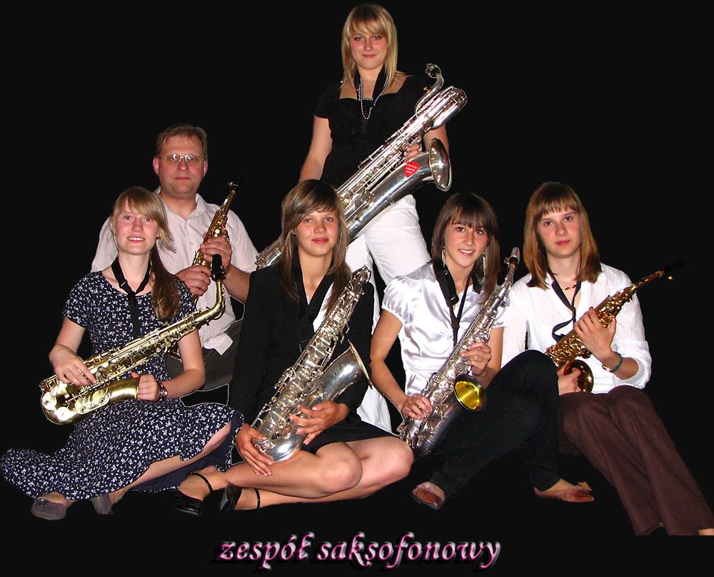 zespół saksofonowy zdjęcie